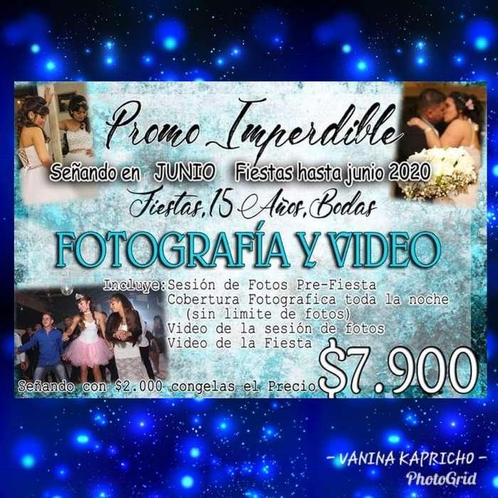 Fotografia Y Video para 15,18 Años,bodas