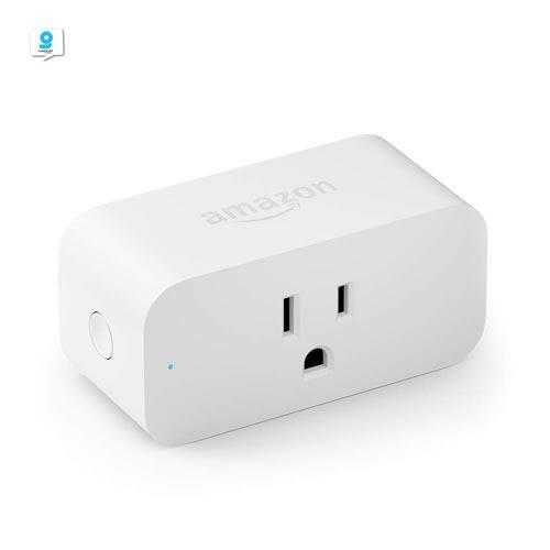 Enchufe Conector Inteligente WiFi Amazon Smart Plug con Alexa