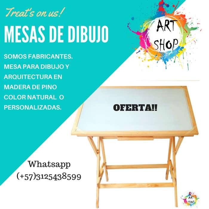 MESA DE DIBUJO / ARQUITECTURA *SOMOS FABRICANTES* TEL 3125438599. ENVIO GRATIS EN ALGUNAS ZONAS DE BOGOTA