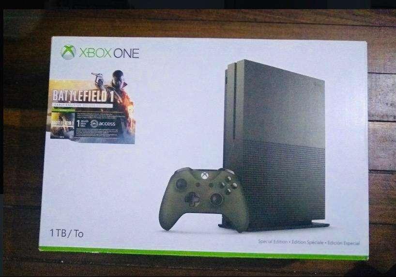 Xbox One Slim Version Battlefield 1 Tb