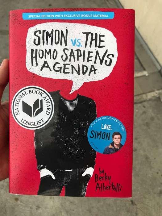 Libro Love Simon Nuevo Ingles Yo Simon