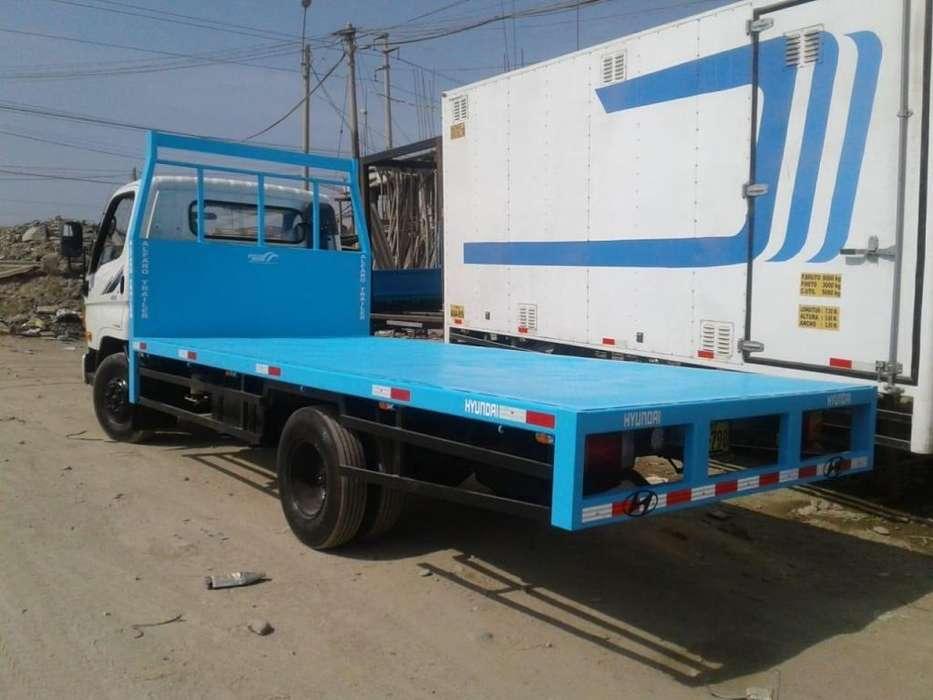 Plataformas de gran estructura en montables y semi trailer