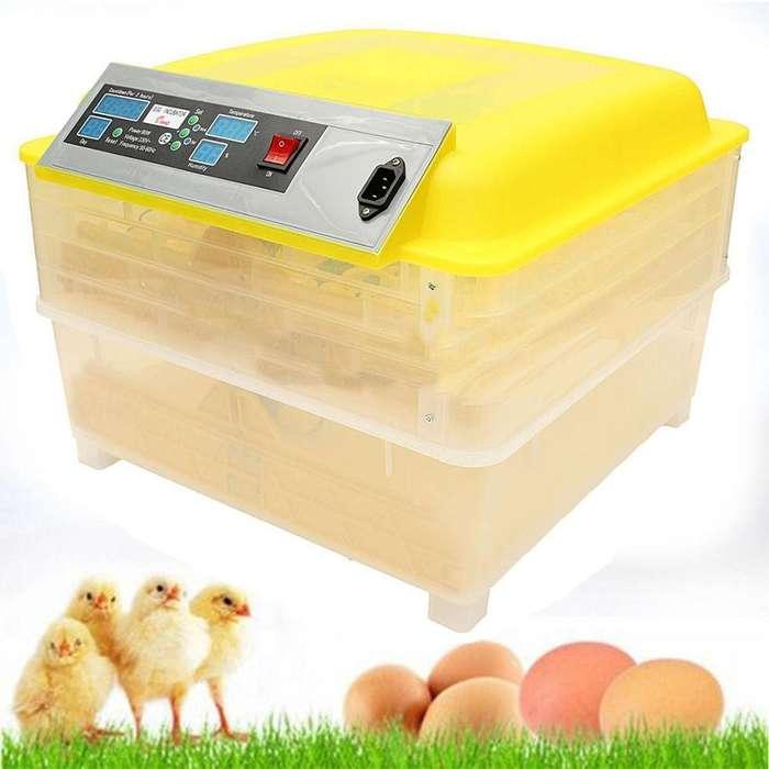 96 Huevos Incubadora Digital Sintonizador Automático.