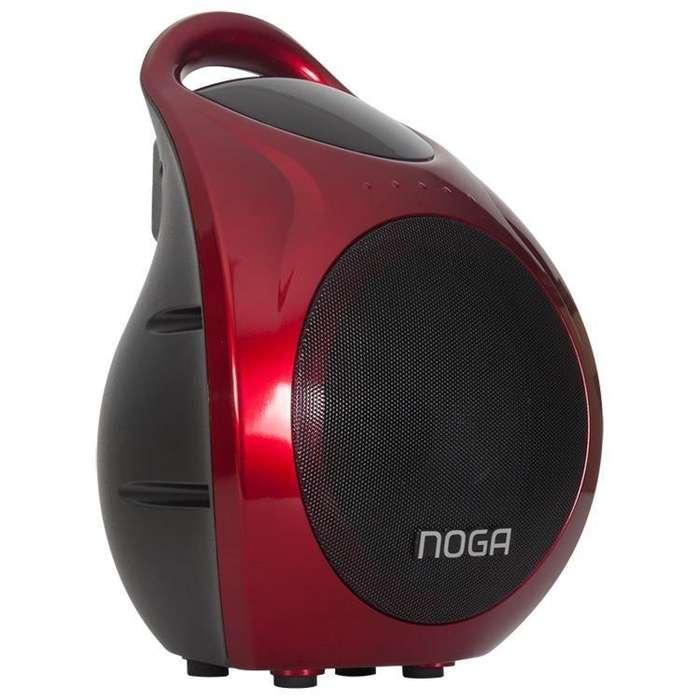 parlante noganet modelo 905 ideal para <strong>karaoke</strong> y portatiles con bateria