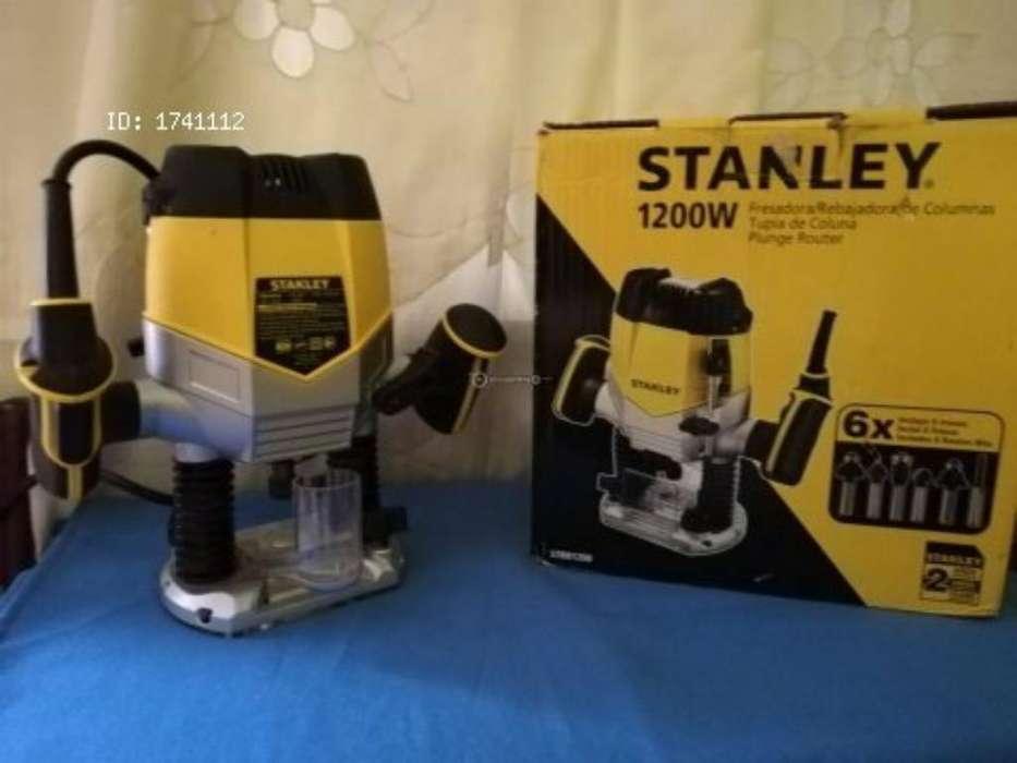 Fresadora Manual Stanley 1200w