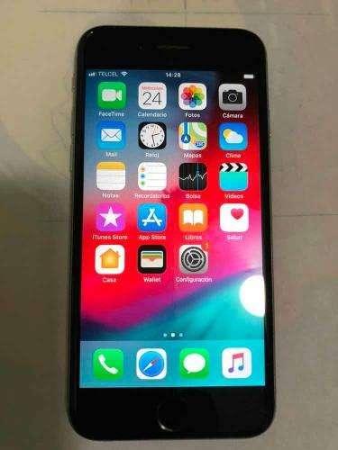 iPhone 6s 64gb Gris Espacial Funciona Todo Al 100%