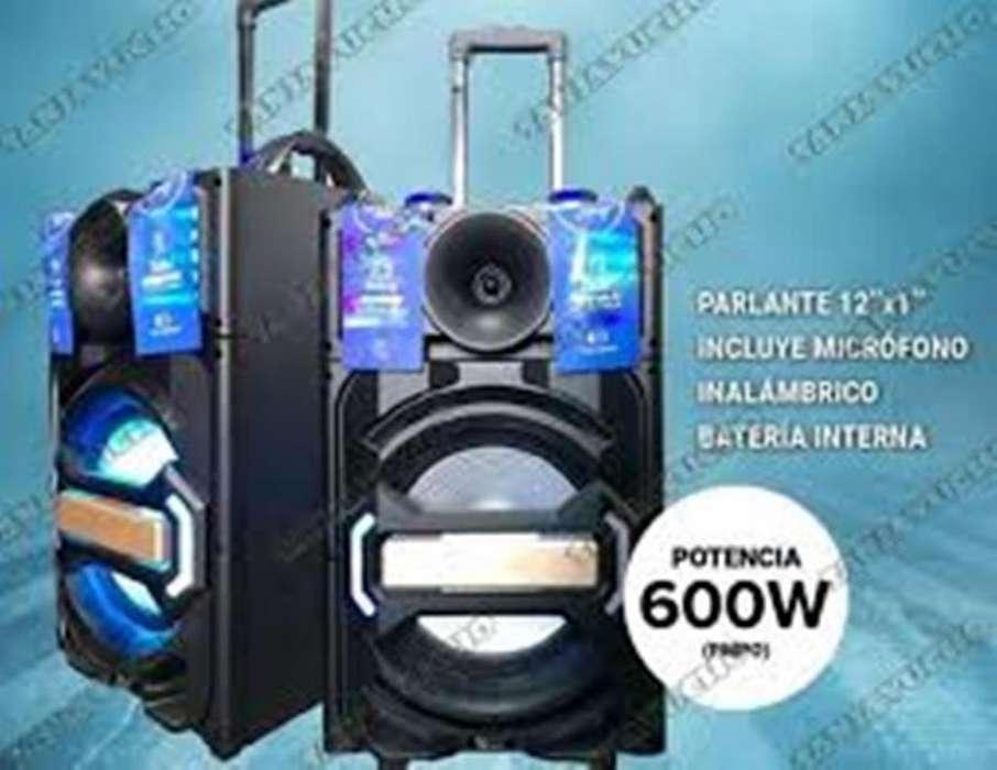 Parlante Portatil Funky 600w Dinax