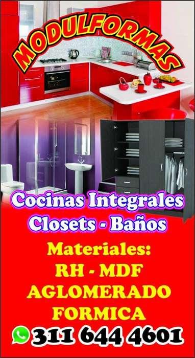 <strong>cocina</strong>s, Closet, Baños