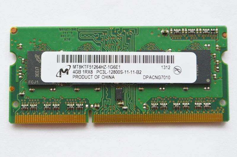 MEMORIA 4GB DDR3 DE LAPTOP