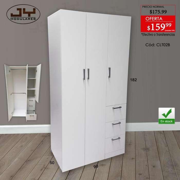 Closet blanco Promocion, 2 dimensiones, en stock, JY modulares, cajones con puertas, librero estante organizador