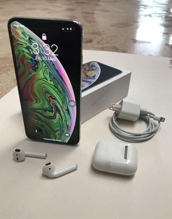 iPhone Xs Max 256 Gigas AirPods Originales