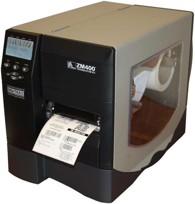 Impresora de Etiquetas Zebra ZM400 con Guillotina