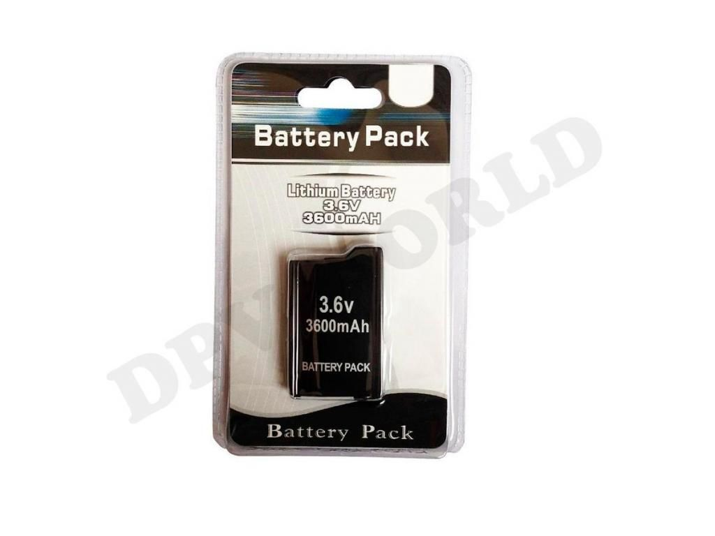 Batería Psp Serie 1000 Recargable 3.6v 3600mah