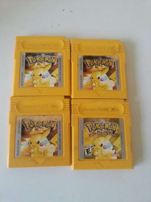 Pokemon Amarillo Gameboy