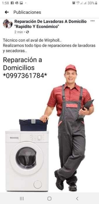 Servicio Técnico de Lavadoras Y Secadora