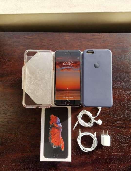 Iphone 6s Plus 128GB 2 Estuches Micas Accesorios