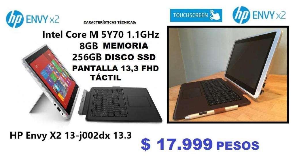 NOTEBOOK HP ENVY 13 X2 IMPECABLE - OFERTA - SOLO PARA ENTENDIDOS !!!