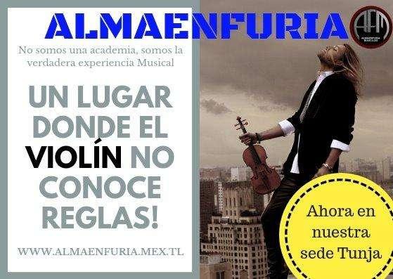 EXCELENTES CURSOS DE VIOLIN EN ALMAENFURIA SEDE TUNJA