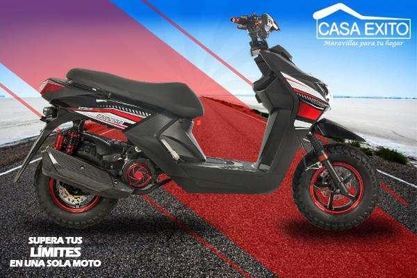 Moto Bultaco Storm 175cc Año 2019 Color Negro / Rojo Casa Éxito