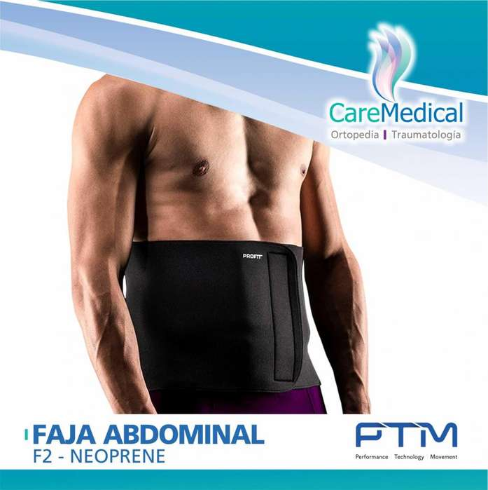 Faja Abdominal Neoprene - PTM F2 - Ortopedia Care Medical