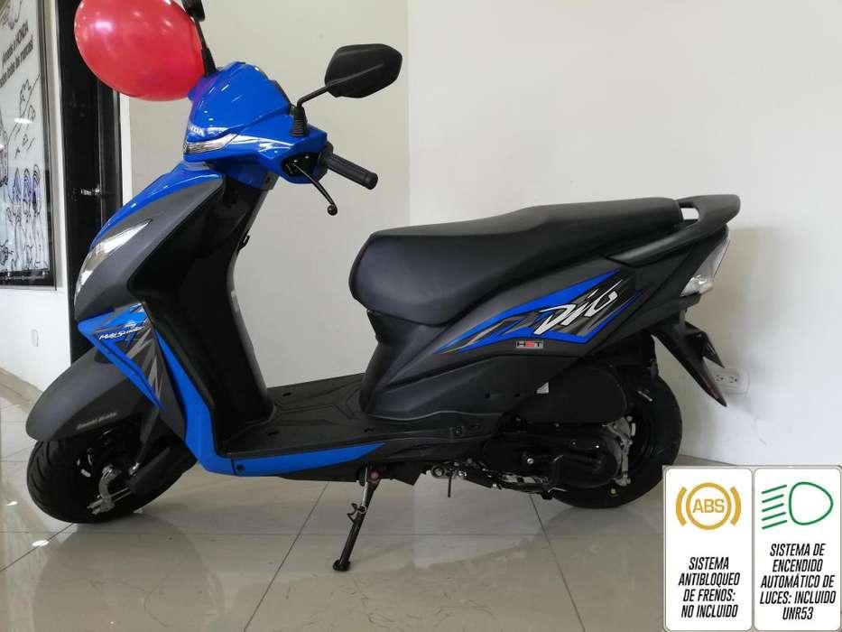 Dio 110 Modelo 2020 Azul