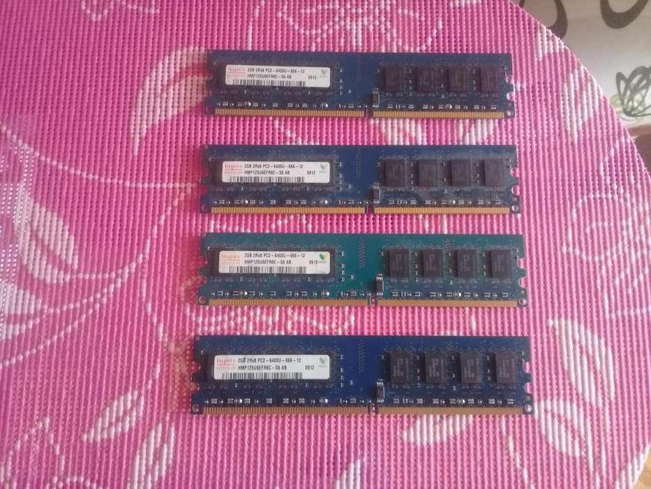 MEMORIAS DDR2 DE 2GB