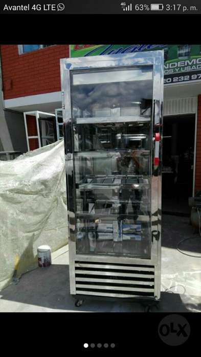 Vertical Refrigeración Una Semana Uso