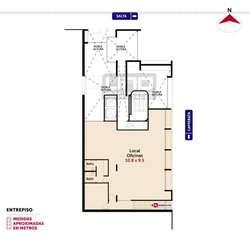 Salta y Cafferata - Amplio Dpto de 2 Dormitorios. Posibilidad cochera. Vende Uno Propiedades