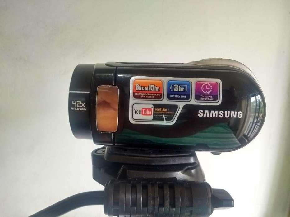 Video Cámara Handycam Samsung 42x