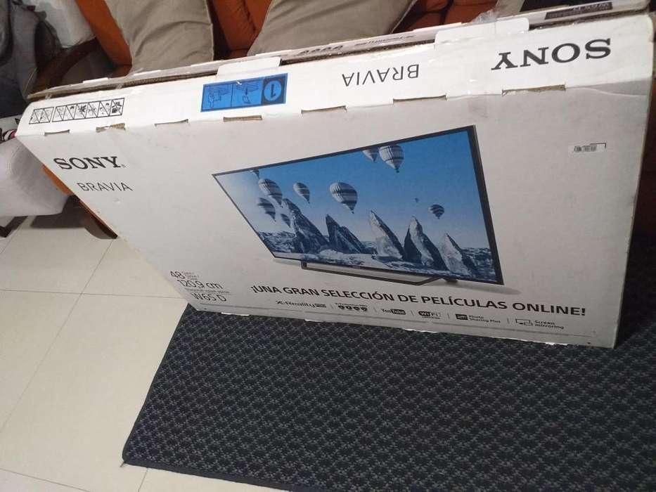 <strong>televisor</strong> SONY DE 48 PULGADAS SMART TV, WIFI, TDT NUEVO