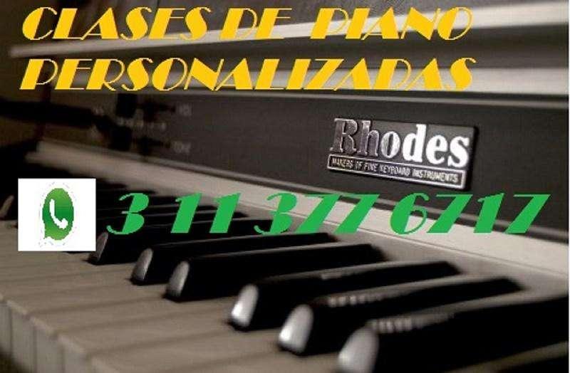CLASES DE PIANO PERSONALIZADAS A DOMICILIO O POR SKYPE