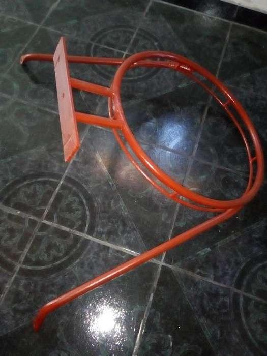 Aro de basket de hierro
