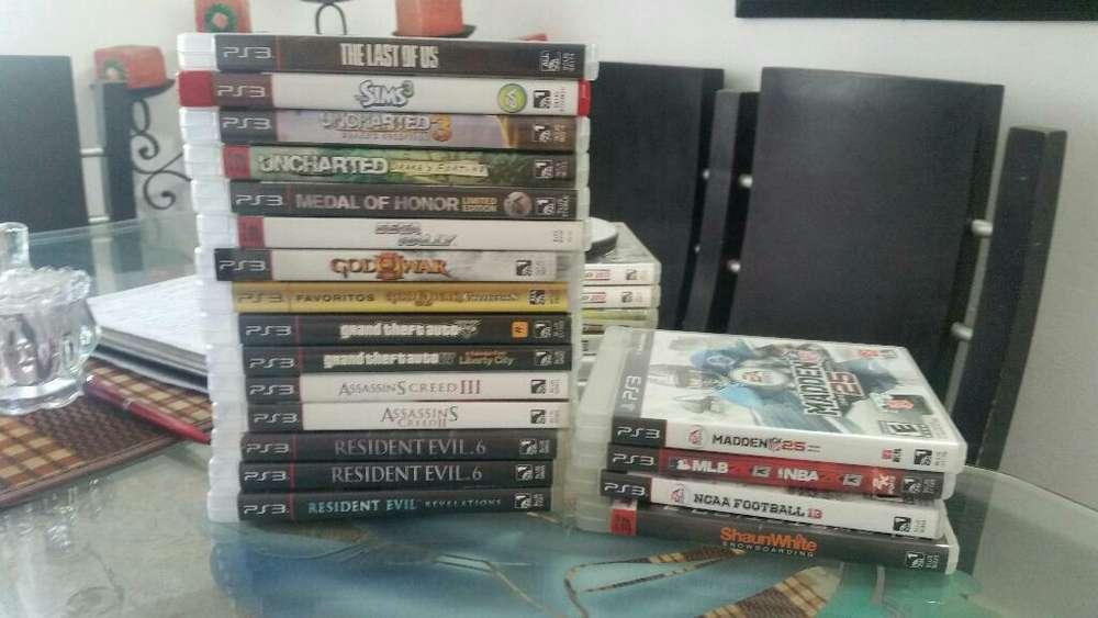 Juegos Play Station 3 Dvd Fisicos