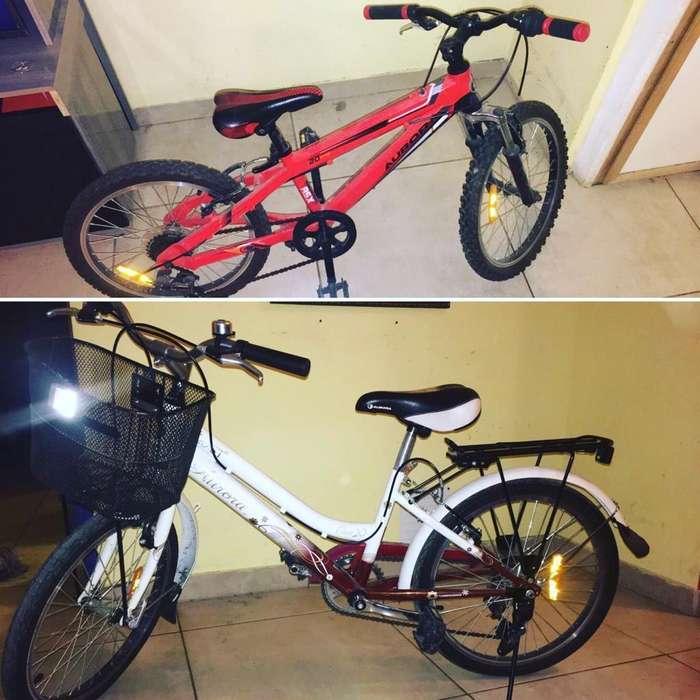 Se Venden bici blanca de nena a 5mil