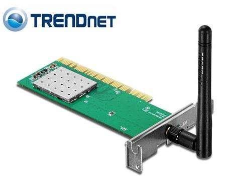 TARJETA WIRELESS TRENDNET TEW703PIL PCI 150MBPS UNA ANTENA