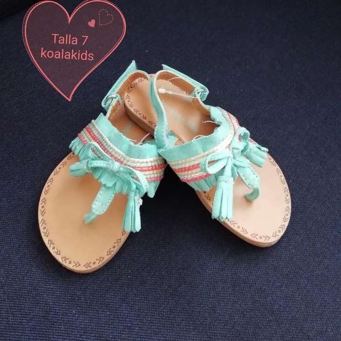 Sandalias de Niña Talla 22