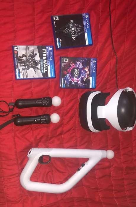 Playstation Vr Version 2 con Accesorios
