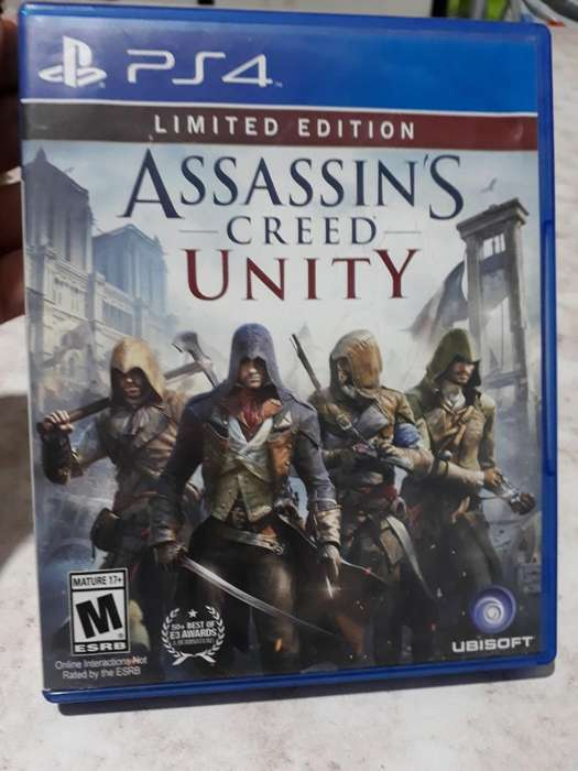 Assassins Cred Unity Ps4