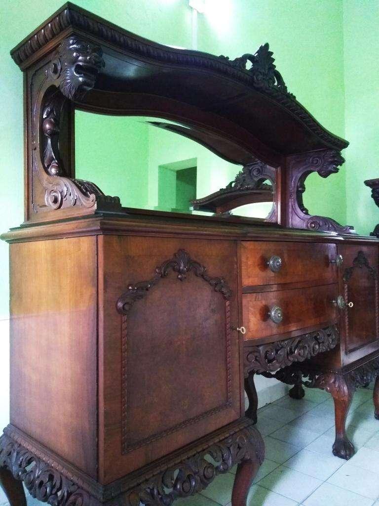 ANTIGUO TRINCHANTE ESTILO CHIPPENDALE INGLES SIGLO XVI