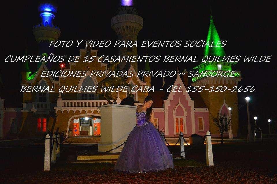 foto y video de fiestas cumpleaños de 15 bodas Quilmes Wilde 1551502656