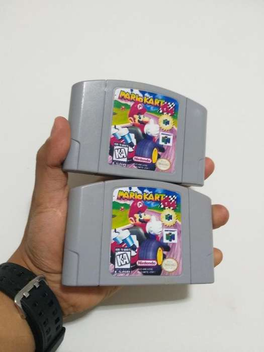 Mario Karts Nintendo 64 N64