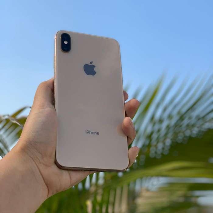 iPhone Xs Max 64Gb Gold ORIGINAL / Perfecto Estado / DORADO