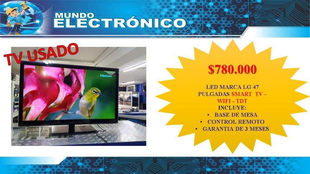 Lg 47 Pulg. Smart Tv - Wifi - Tdt2
