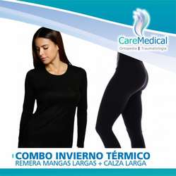 Remera Termica Calza Termica Combo Invierno Ortopedia Care Medical