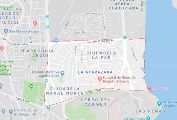Av Plaza Dañin, 165m², Principal, Esquinero, Terreno en venta, Atarazana