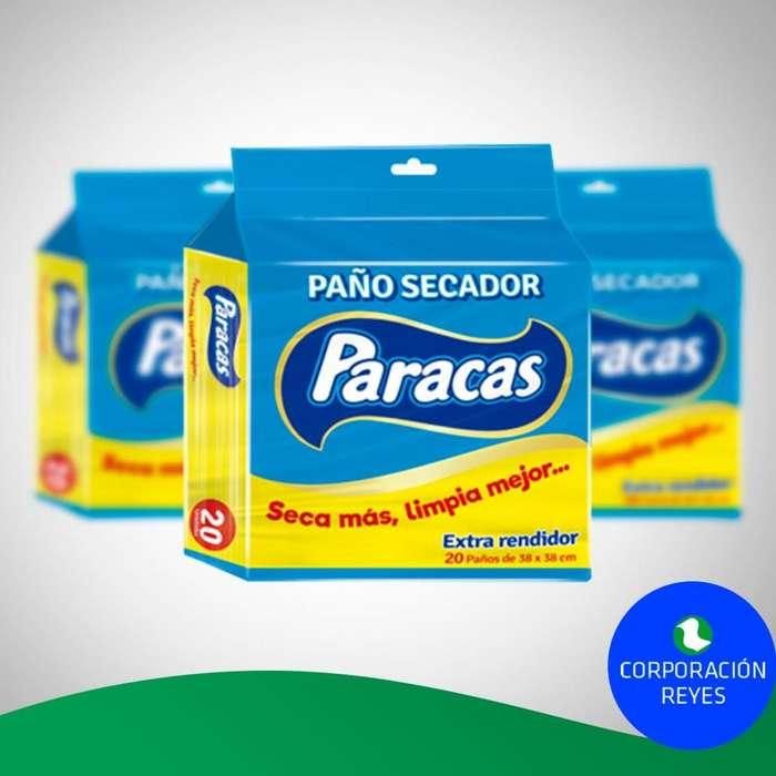 Paño Secador Paracas X20 Unds. (Caja X20 Packs)
