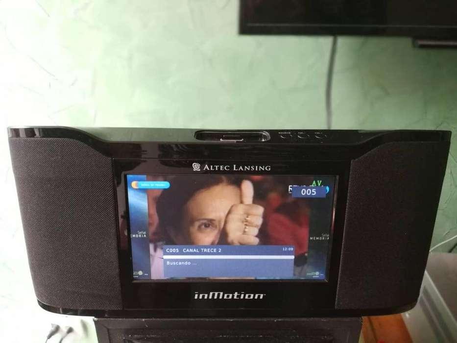 CAMBIO. <strong>televisor</strong> Mini marca Altec Lansing. control Remoto incluido
