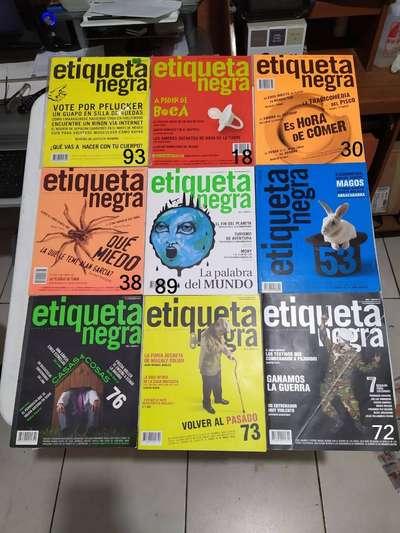 Revista Etiqueta Negra Libros Cds Dvds 1102687114