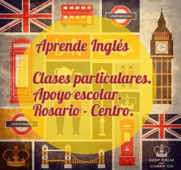 Clases Particulares y de apoyo de Inglés.