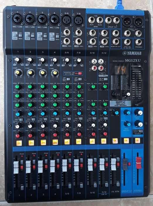 Consola Yamaha Mg12xu Con Efectos Y Usb 950.000